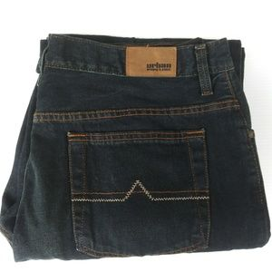 Mens Urban Pipeline Relaxed Bootcut Jeans